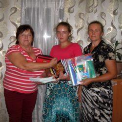 Ржепянская Анна, поселок Азовское