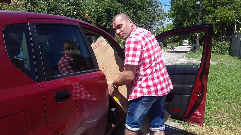 Резниченко Давид фото на коляске 1