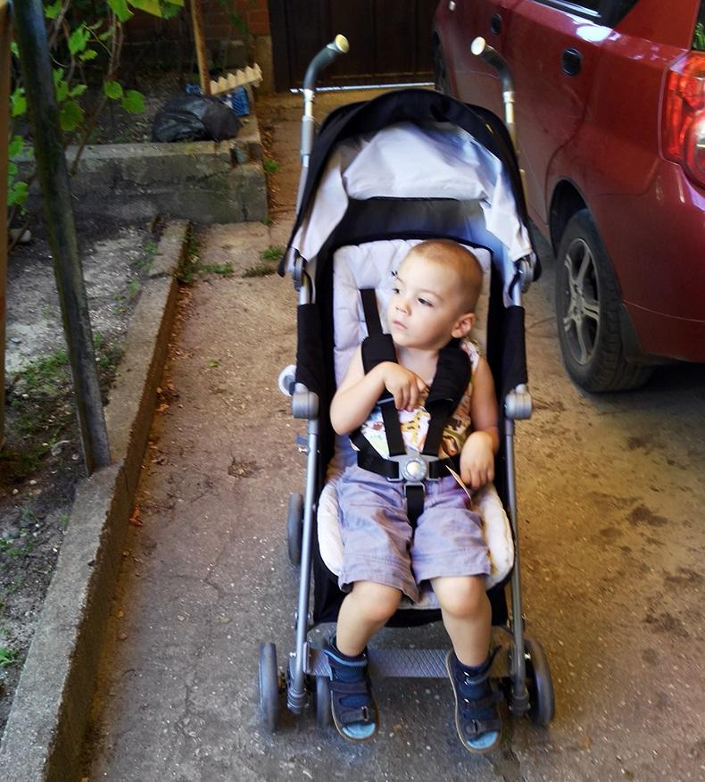 Резниченко Давид фото на коляске 2